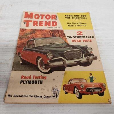 4242  February 1956 Motor Trend Magazine February 1956 Motor Trend Magazine