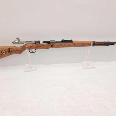 1012  Nazi Germany Mauser K98 8mm Bolt Action Rifle with Nazi Proofs CA OK Serial Number: 9099 Barrel Length: 24