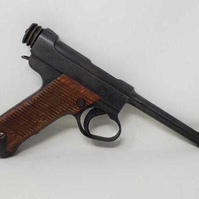 640  Japanese Nambu Type 14 8mm First Series Shown 18.9 1943 CA OK Serial Number: 90580 Barrel Length:6