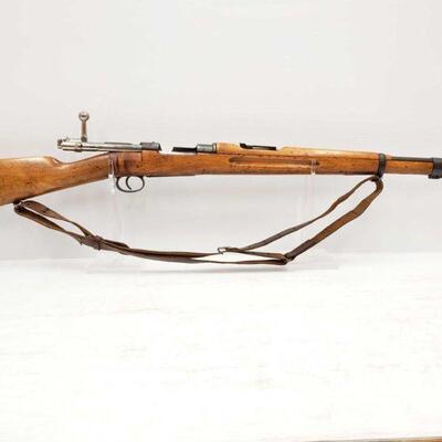 1068  Carl Gustafs Stads Gevarsfaktor 6.5x55 Bolt Action Rifle Serial Number: 180344 Barrel Length: 24