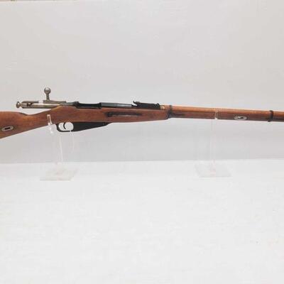 1014  Mosin-Nagant M91/30 7.62x54mm Bolt Action Rifle Serial Number: 107048 Barrel Length: 28