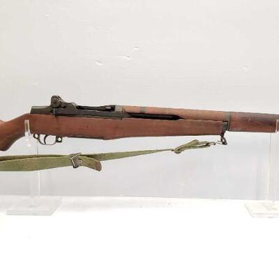 1064  H&R M1 Garand .30-06 Semi Auto Rifle Serial Number: 5599317 Barrel Length: 24