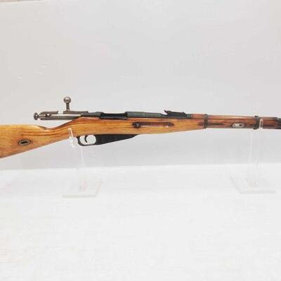1040: Mosin-Nagant 19431 7.62x54 R Bolt Action Rifle Serial Number: KN3932 Barrel Length: 20