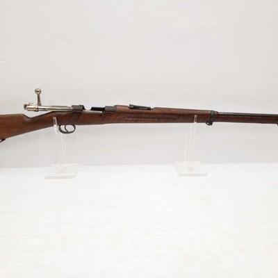 1066  Carl Gustaf Stads Gevarsfaktori 6.5x55 Bolt Action Rifle Serial Number: 150206 Barrel Length: 29