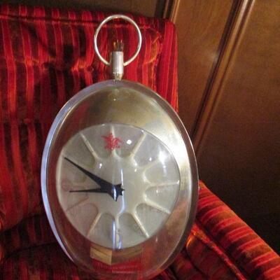 Hanging Clock/Light