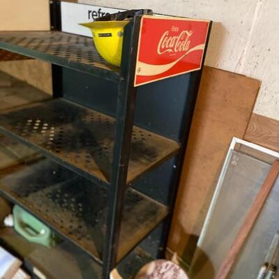 Coca Cola shelf. 15.00