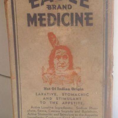 Eagle Medicine Bottle