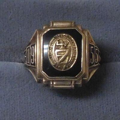1955 10k Class Ring