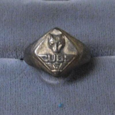 Sterling Cub Scout Ring