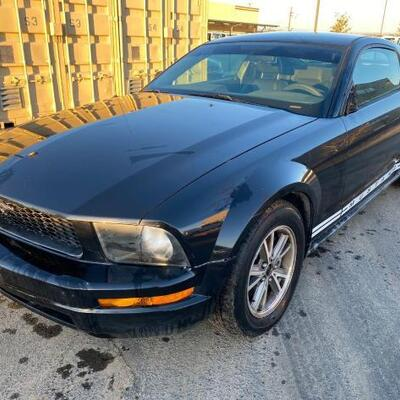150	  2005 Ford Mustang CURRENT SMOG SEE VIDEO... Year: 2005 Make: Ford Model: Mustang Vehicle Type: Passenger Car Mileage:190939 Plate:...