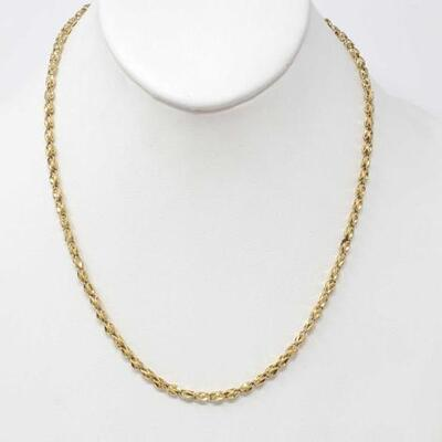 #285 • 14k Gold Chain, b weighs approx 11.8g