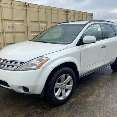 2007 Nissan Murano CURRENT SMOG SEE VIDEO... Year: 2007 Make: Nissan Model: Murano Vehicle Type: Multipurpose Vehicle (MPV) Mileage:...
