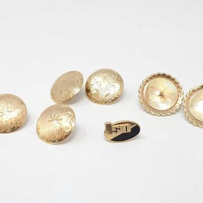#292 • 7 14k Gold Pins - weighs approx 10.2g
