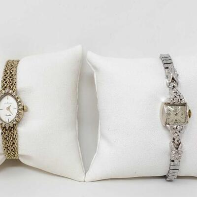 #492 • 2 Watches With Diamonds