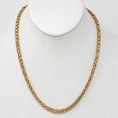 #306 • 14k Gold Chain Necklace, weighs approx 18.9g