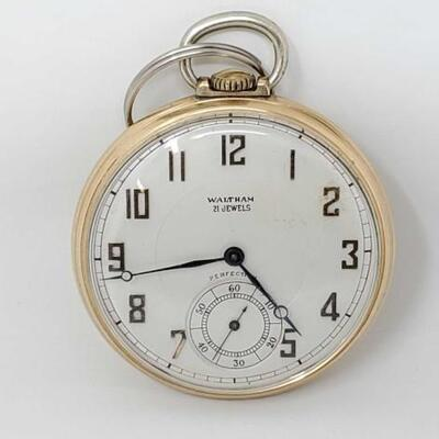 #364 • 10k Gold Waltham Pocketwatch, 49.1g