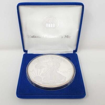 #606 • 2000 Silver Eagle 1/2 LB. .999 Fine Silver Coin
