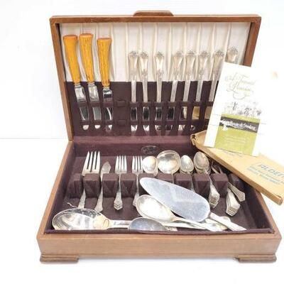 #482 • Sterling Silver Stately Silverware Set