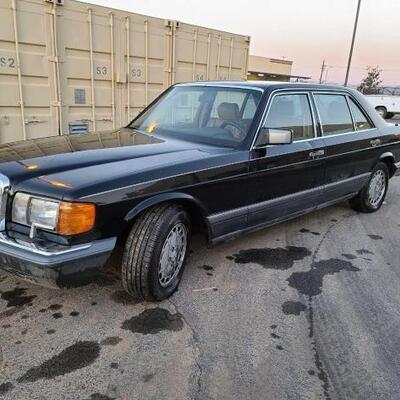 155	  1990 Mercedes-Benz 350 SEE VIDEO... Year: 1990 Make: Mercedes-Benz Model: 350 Vehicle Type: Passenger Car Mileage: 182649 Plate:...