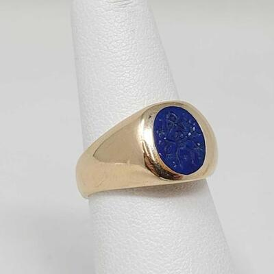 280	  14k Gold Ring, 6.1g Weighs Approx 6.1g. Size 6.