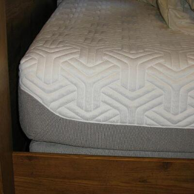 tempurpedic queen size mattress, never used.  BUY IT NOW