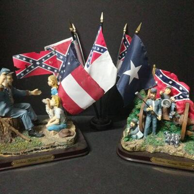 Two Southern Heritage Collection pieces from 2001 (9