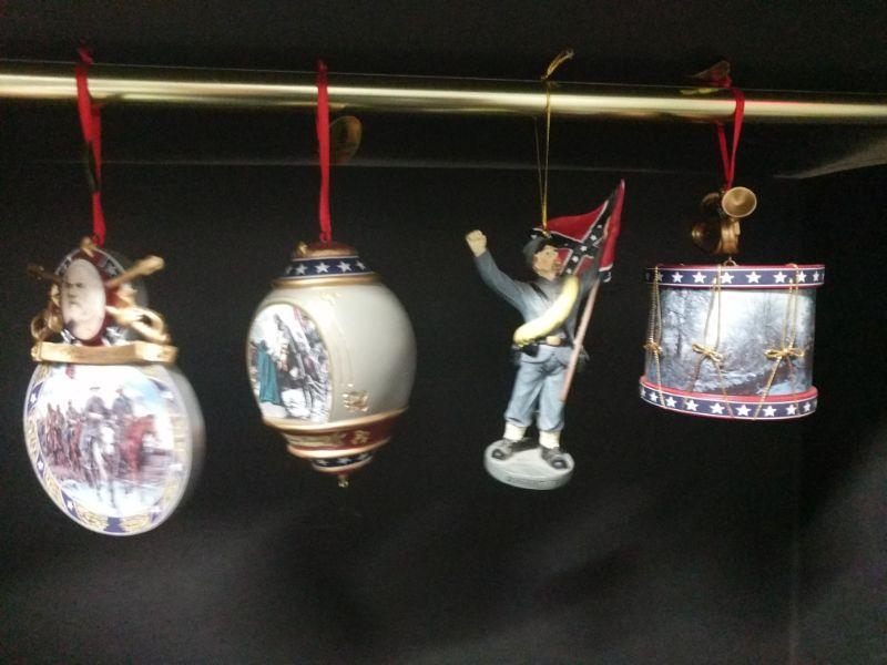 Four Civil War Ornaments https://ctbids.com/#!/description/share/768490