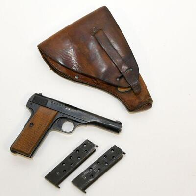 Browning model 1922 with holster