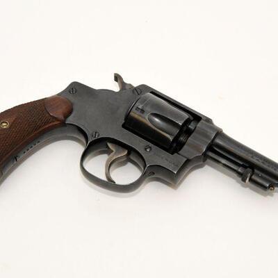 Vintage S&W Regulation Police revolver