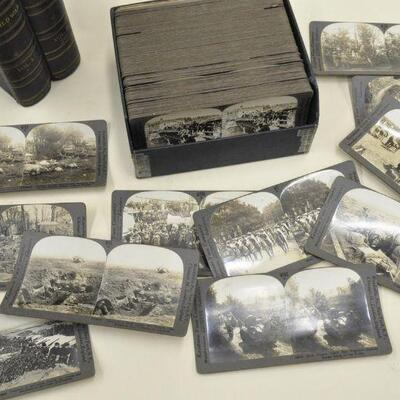 WWI stereoview cards