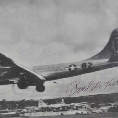 Paul Tibbetts (pilot of the Enola Gay) autographs