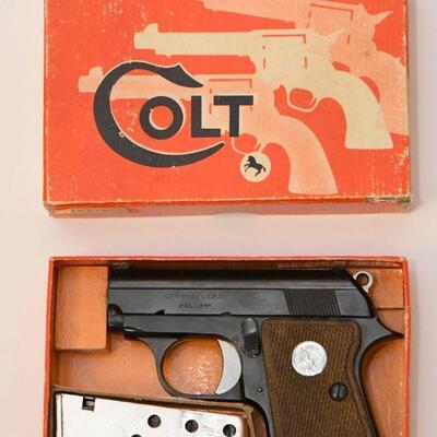 Colt Jr. .25 cal. with box