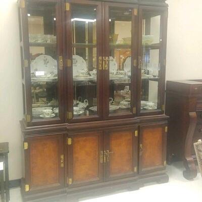 china curio cabinet  175.00
