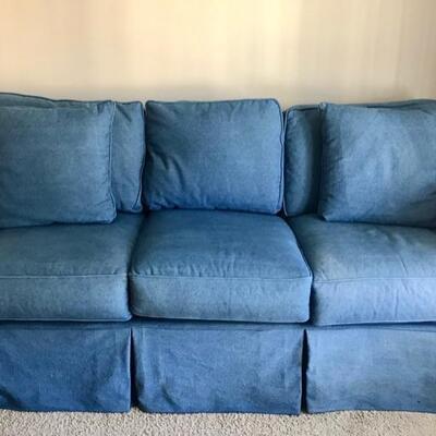 Queen size sleeper sofa $250 82 X 35 X 24