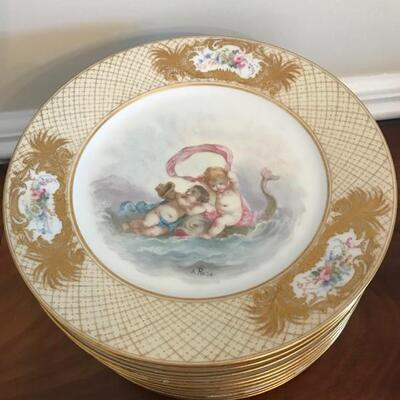 Sevres 11 plates $475 or $45 each