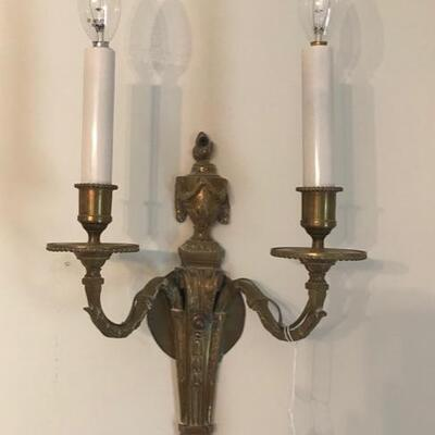wall sconces $45 can be wired 2 available
