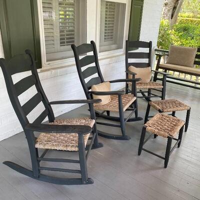 Camden SC Hunter rocking chairs