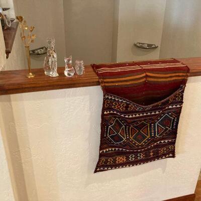 Smalls & oriental camel bag