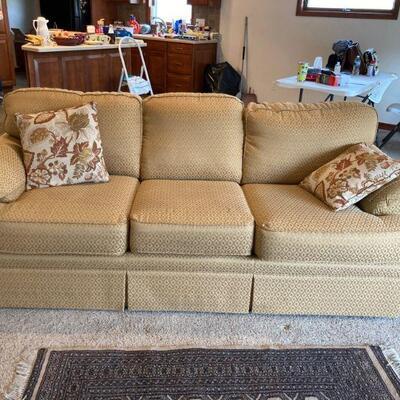 Sofa (damage to upholstery)