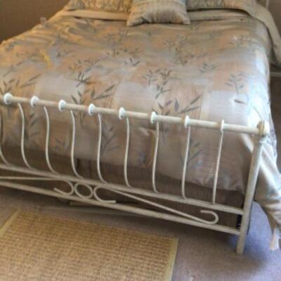 Queen bed, $150