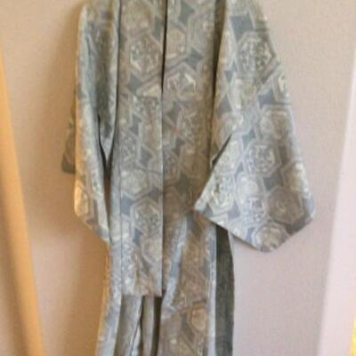 Collection of kimonos