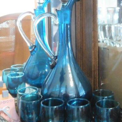 Decanter with Stems