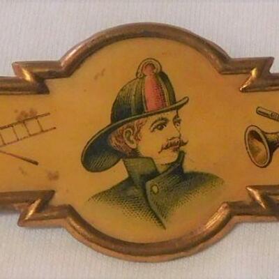 1800's Fireman's Brooch