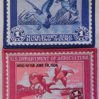 1930's and up Hunting Patches