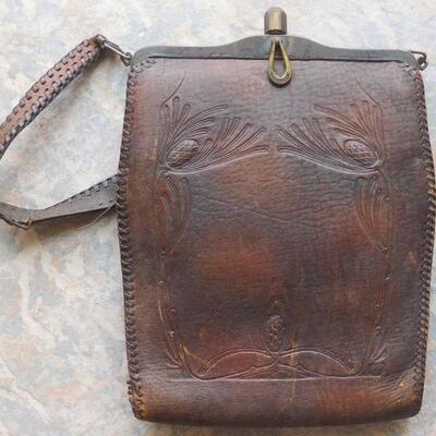 Leather Purse Ca. 1880