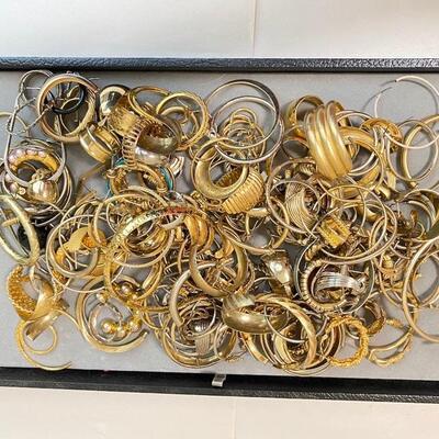 All Pierced Hoop Earrings - Mixed Assortment