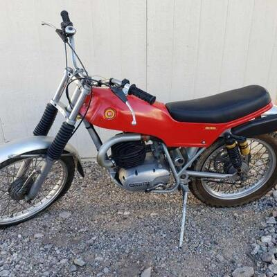 20: 1975 Montesa Cota 247 VIN: 21M14143 Motor No: 21M14143   Sells at auction April 6th call for more information 844-824-3669 or bid on...