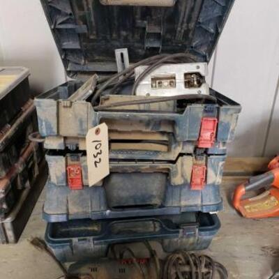 1032  Power Tools Bosch Jig Saw. Ryobi Muilti Tool. Bosch Hammer Drill. Bosch Planer.