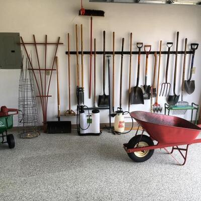Lot 004-G: Yard and Garden Tool Assortment