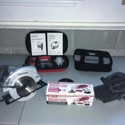 Lot 002-G: Power Hand Tool Assortment #2